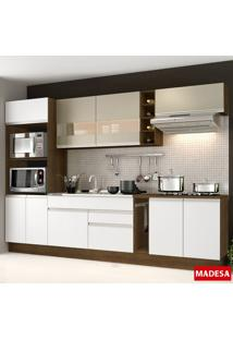 Cozinha Compacta Safira G2015 Rustic/Branco - Madesa