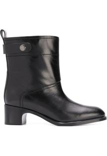 See By Chloé Ankle Boot De Couro - Preto