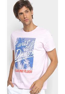 Camiseta Flamê Ellus 2Nd Floor Estampada Masculina - Masculino