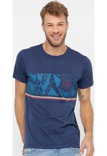 Camiseta Quiksilver Especial Shadow Masculina - Masculino