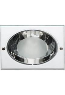 Luminária De Embutir Quadrada Branca 1Xe27 Bonin 4082Bc