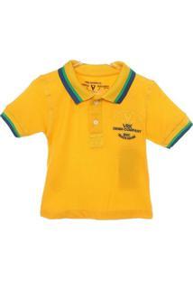 Camiseta Polo Manga Curta - Masculino
