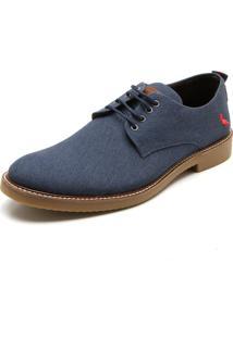 Sapato Social Reserva Kim Azul