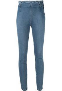 Nobody Denim Calça Jeans Cropped Moda - Azul