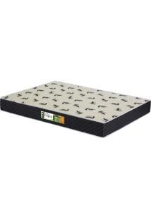 Colchão D23 Casal Pro Confort Bordado 138X188X14 Cor Preto