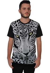 Camiseta Ramavi Onça Preto