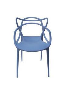 Cadeira Allegra Azul Caribe Rivatti