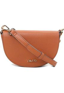 Bolsa Colcci Mini Bag Selaria Feminina - Feminino-Caramelo