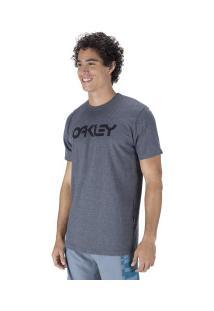 Camiseta Oakley Mark Ii Tee - Masculina - Cinza Escuro