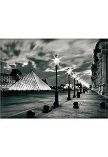 Jogo Americano Decorativo, Criativo E Descolado | Museu Do Louvre Em Paris, Na França - Tamanho 30 X 40 Cm