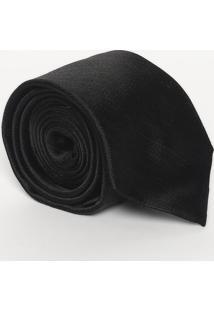 Gravata Slim Em Seda - Preta - 7X152Cmcalvin Klein