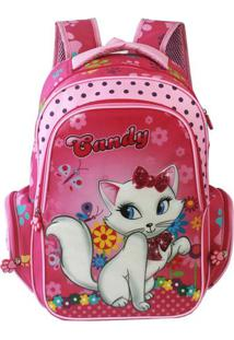 "Mochila ""Candy""- Rosa Claro & Rosa- 46,5X29,5X19,5Cmtravel Max"
