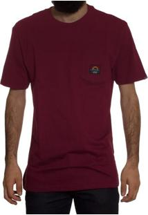 Camiseta Vans Ms The Bear Burgundy