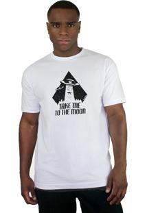 Camiseta Bleed American To The Moon Branco