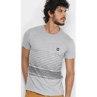 05fdbbd692 Camiseta Hang Loose Silk Gradstripe Masculina - Masculino