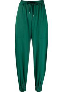 Paul Smith Calça Cenoura Com Recortes - Verde