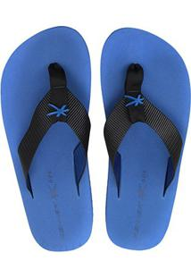 Chinelo Kenner One Colors Masculino - Masculino-Preto+Azul