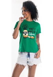 T-Shirt Nogah Você É Mais Verde - Kanui