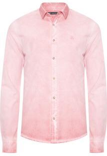 Camisa Masculina Old Rose - Rosa