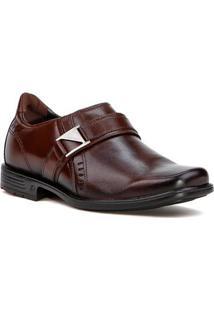 Sapato Casual Masculino Masculino Pegada Marrom