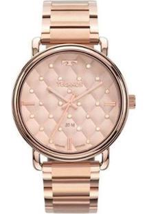 Relógio Technos Trend 2039Cn/4T Feminino - Feminino-Rosa