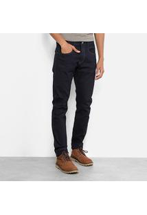 Calça Jeans Skinny Replay Escura Masculina - Masculino