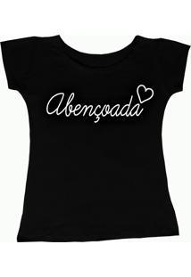 Camiseta Dolce Morena Abençoada Preta