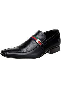 Sapato Social Bigioni Liso Preto