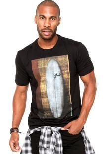Camiseta Rusty Quiver Preta