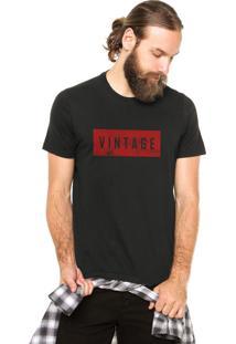 Camiseta Rgx Vintage Preta