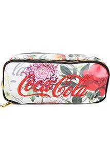Necessaire Pacific Coca-Cola Flower - Feminino-Floral