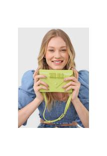 Bolsa Santa Lolla Envelope Verde
