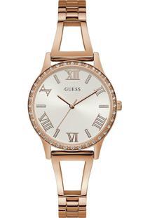 Relógio Guess Feminino Aço Rosé - W1208L3
