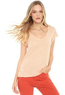 Camiseta Lez A Lez Botonê Rosa - Kanui