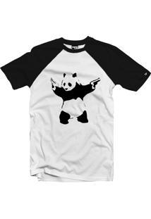 Camiseta Raglan The Garage Custom Tees Panda