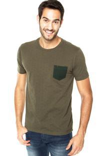 Camiseta Vr Bolso Verde