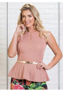 eae390855 Blusa Moda Pop Peplum feminina | Shoelover