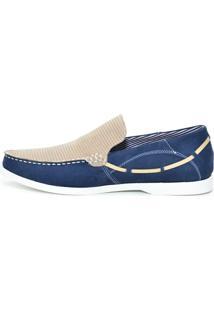 Dockside Shoes Grand Azul Areia