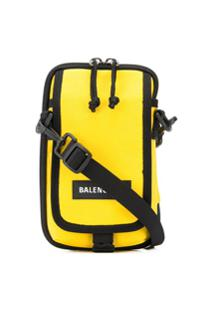 Balenciaga Bolsa Transversal Explorer - Amarelo