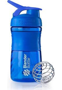Coqueteleira Azul Marinho Sport Mixer Blender Bottle