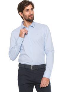 Camisa Calvin Klein Reta Cannes Azul