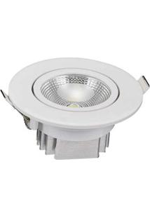 Spot De Embutir Redondo Led 5W 6500K Branco Ecoforce