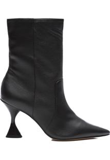 Bota Feminina Grease - Preto