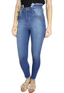 Calça Jeans Feminina Instinto Azul - 38