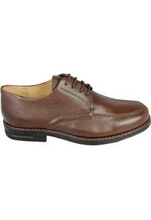 Sapato Social Derby Sandro Moscoloni Riverside Masculino - Masculino-Marrom Escuro