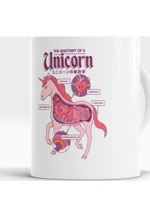 Caneca Anatomy Of A Unicorn