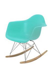 Cadeira Eames Com Braco Base Balanco Tiffanny Fosco - 43638 Preto
