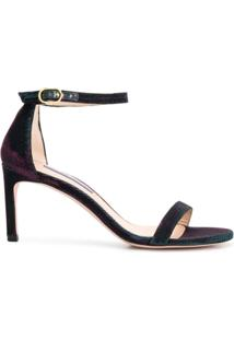 Stuart Weitzman Sandália Night Time - Azul