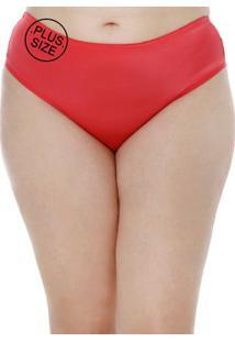 Calcinha Plus Size Feminina Rosa