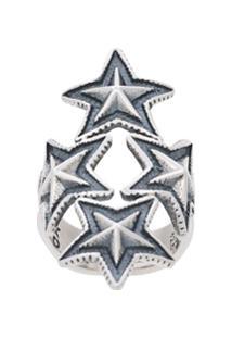Cody Sanderson Anel '4 Star' - Metálico